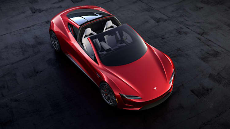 Elon Musk teases a flying version of Roadster supercar. Is he serious?