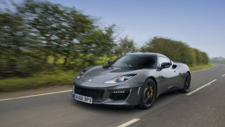 Yeah, it's more than 10 better | 2018 Lotus Evora Sport 410 Quick Spin