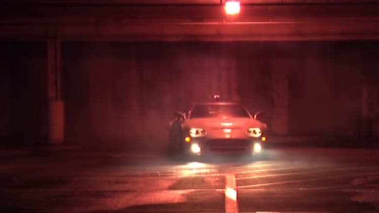 This may be your only chance to watch a Spyker hoon