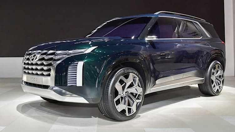 Hyundai Grandmaster concept could preview new flagship full-sized SUV