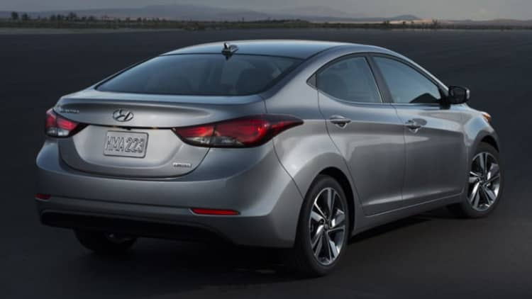More than a half-million Hyundai, Kia compacts recalled for brake light problem
