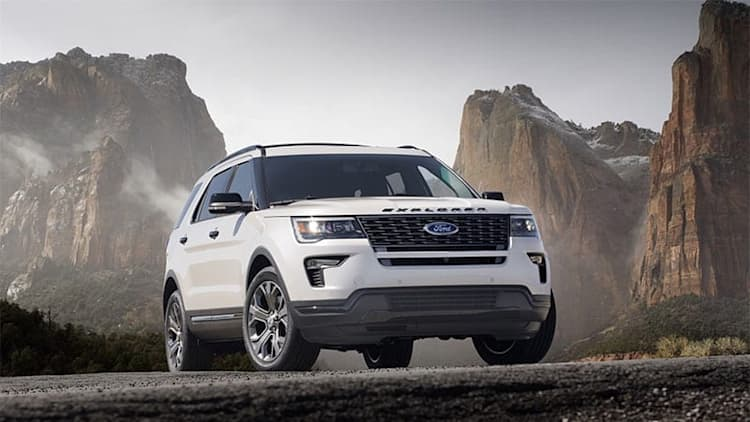 2020 Ford Explorer to go RWD, get 400-hp ST version