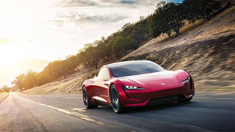 SpaceX option package for 2020 Tesla Roadster could add more performance