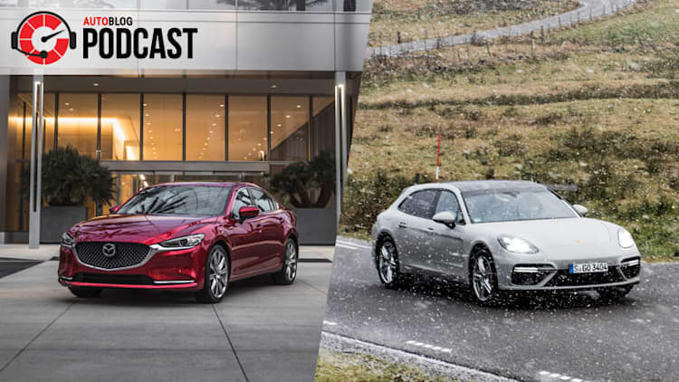 2018 Mazda6, Porsche Panamera and Nissan Titan | Autoblog Podcast #541
