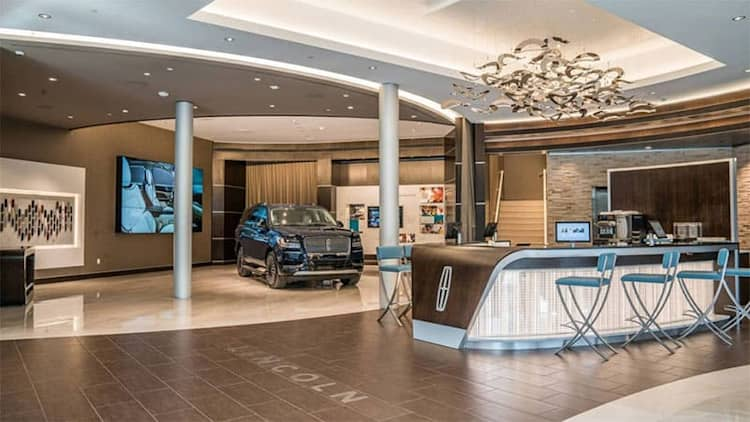 Lincoln dealers to build standalone dealerships separate from Ford