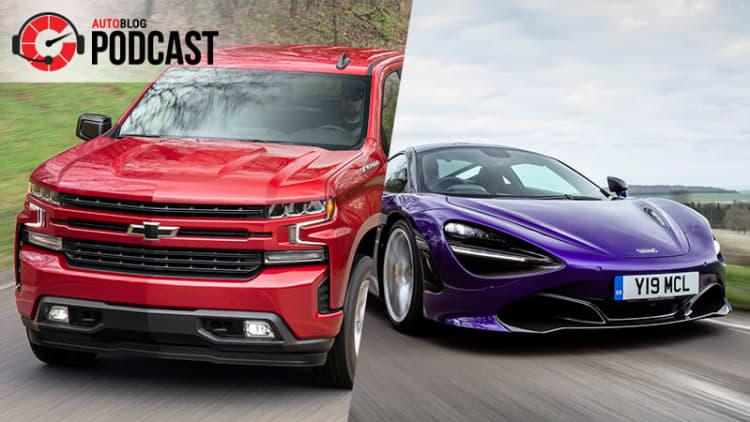 Silverados, Raptors and a 710 horsepower McLaren | Autoblog Podcast #542