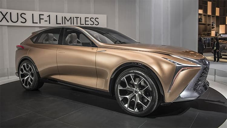 Lexus US execs want the LF-1 Limitless concept or something like it