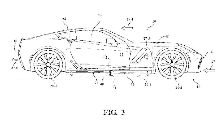 Patents hint at active aerodynamics for C8 Chevy Corvette