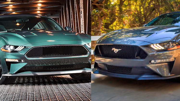 Ford Mustang GT vs. Bullitt: specs and features compared