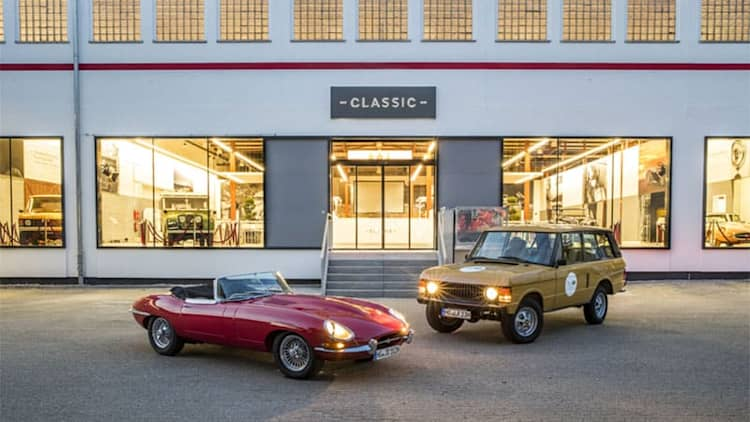 Jaguar Land Rover opening its first U.S.-based classic center in Georgia