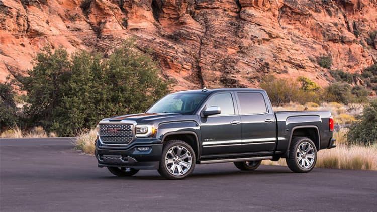 Buyers ditching expensive European sedans to buy expensive American trucks