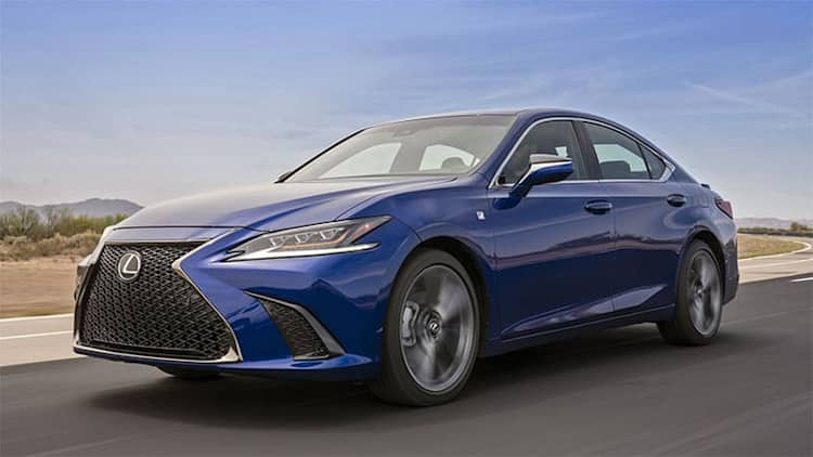2019 Lexus ES 350 starts at just $550 more than outgoing model