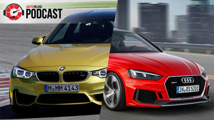 BMW M4 versus Audi RS5 | Autoblog Podcast #546