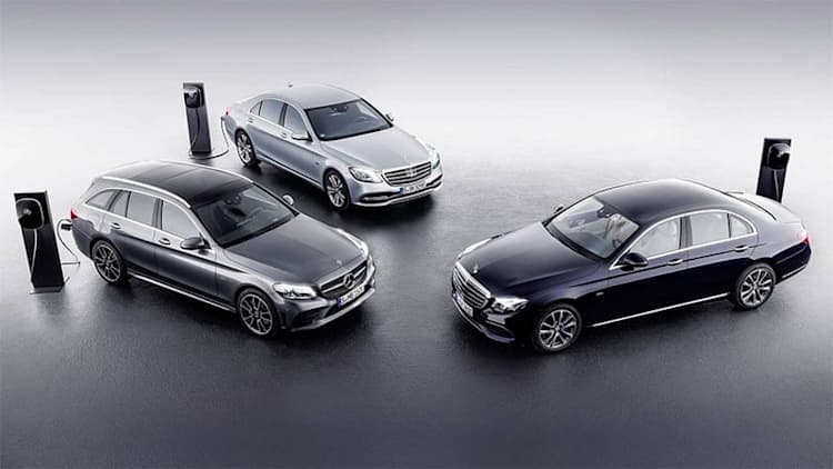 Mercedes-Benz axes four PHEV models to make way for EQ range