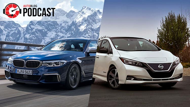 Nissan Leaf and the future of auto shows   Autoblog Podcast #525
