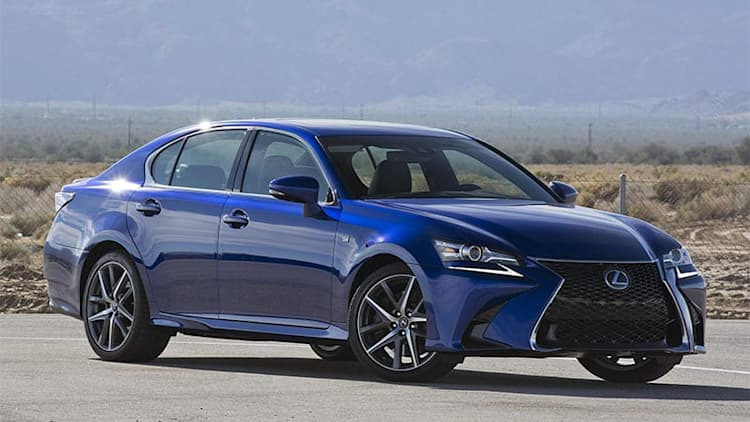 Lexus GS production and sales halted in Europe