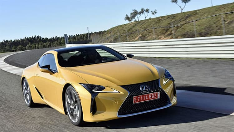 Lexus LC convertible could appear in 18 months, LC F to follow