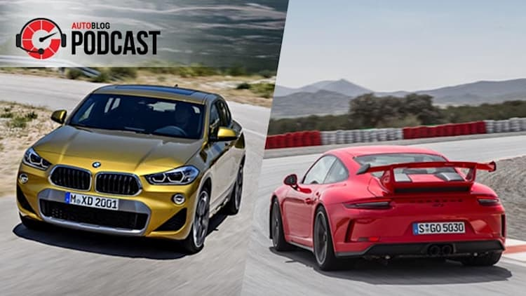 Fast Porsches and gold BMWs | Autoblog Podcast #548