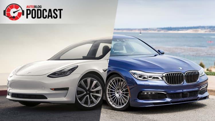 New York Auto Show, Tesla Model 3, Alpina B7 | Autoblog Podcast #535
