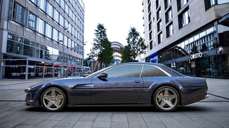 Ares Design turns the Ferrari GTC4Lusso into a 412 revival