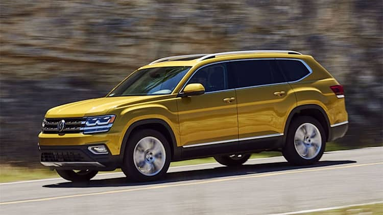 VW rearranges 2019 Atlas options with fewer trims and increased prices