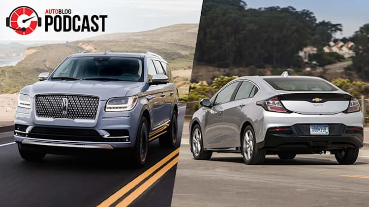 L.A. Auto Show, Chevy Volt and the Lincoln Navigator | Autoblog Podcast #563