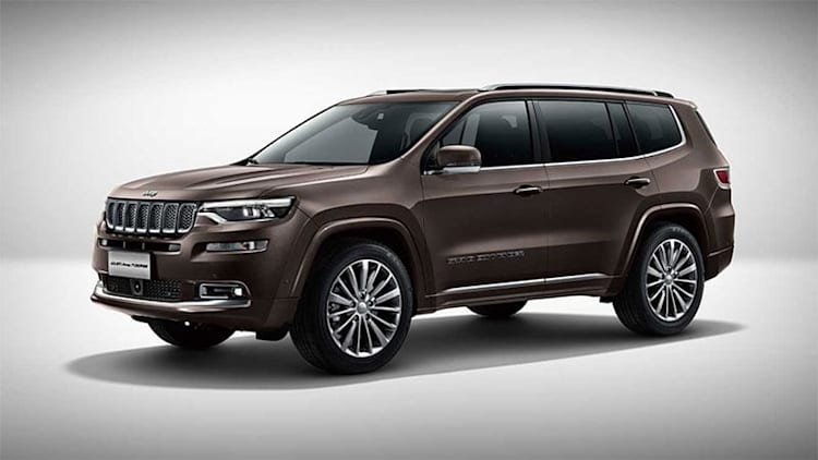 China-market Jeep Grand Commander coming to U.S. as a Chrysler?