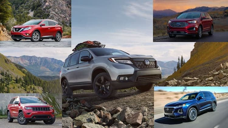 2019 Honda Passport vs. the competition: How they compare on paper
