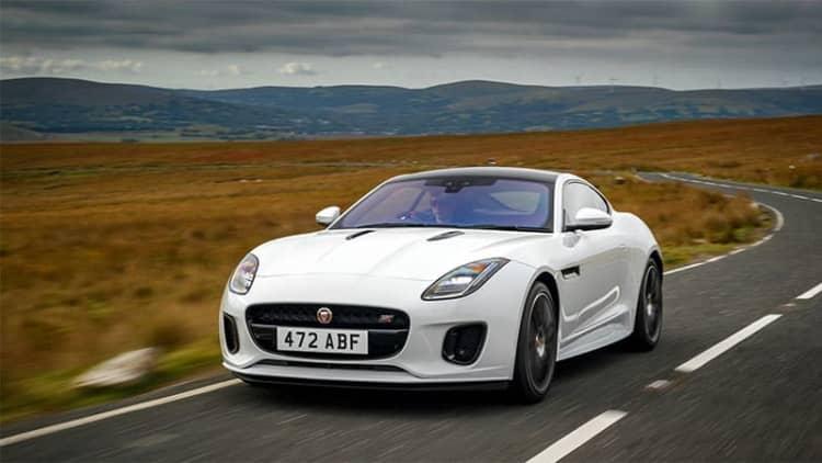 2020 Jaguar F-Type loses manual option, costs more money