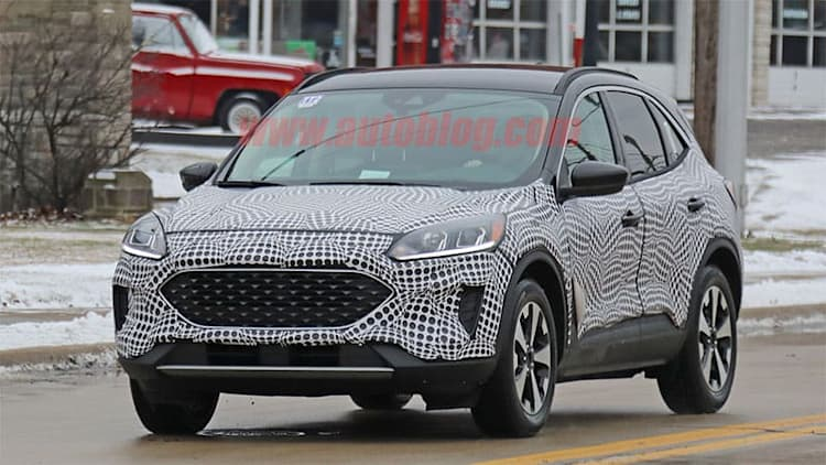 2020 Ford Escape VIN documents show three engines and two hybrids