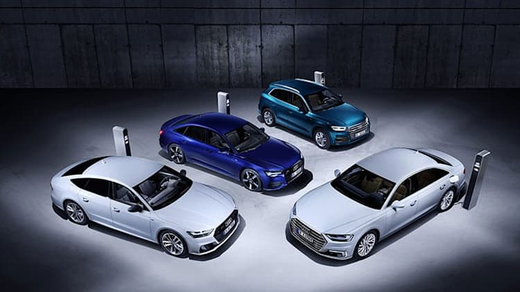Audi bringing four new PHEV models to Geneva