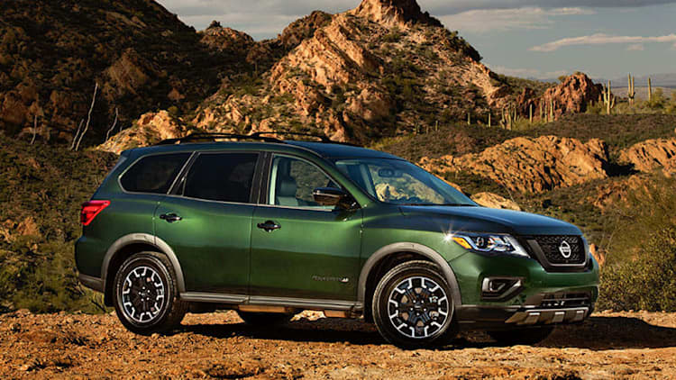 2019 Nissan Pathfinder Rock Creek Edition is all show, same go
