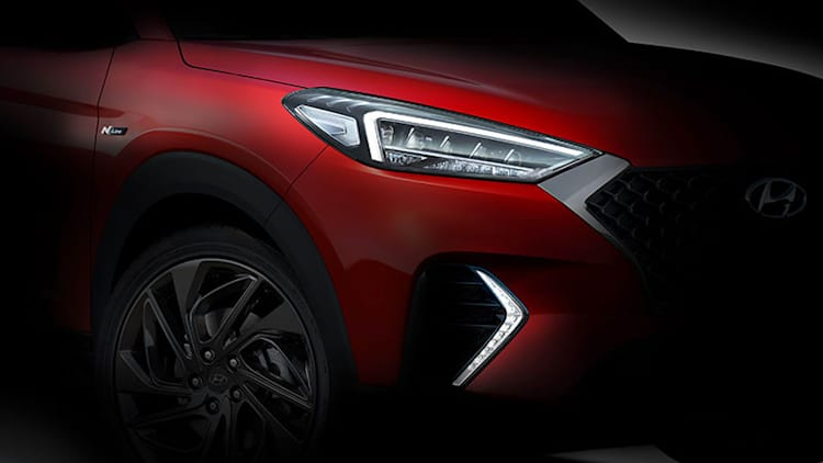 Hyundai teases Tucson N Line warmed-up crossover for Europe