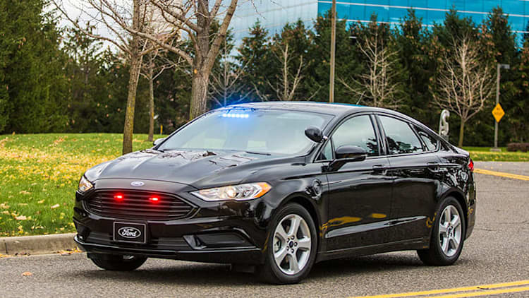 Ford Special Service Plug-In Hybrid for non-pursuit law enforcement