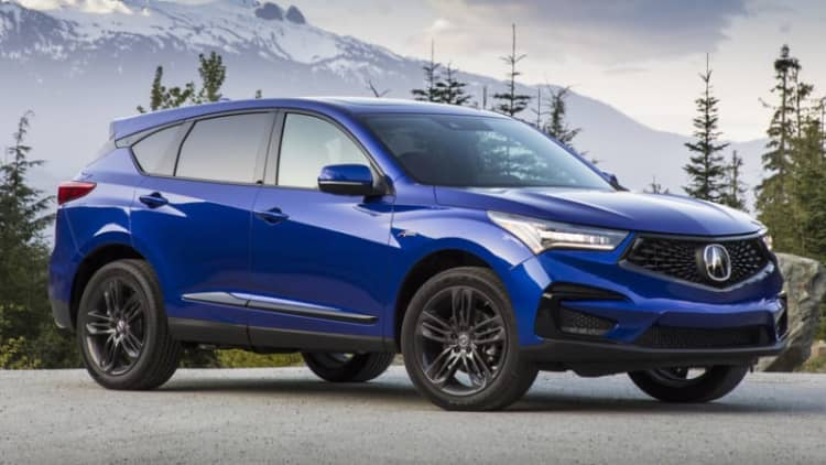 2019 Acura RDX named a Top Safety Pick+ by IIHS