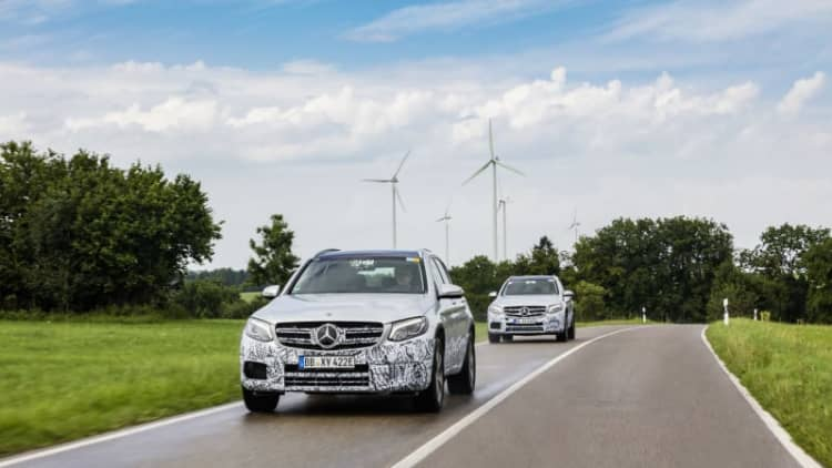 Mercedes' Frankfurt plan: plug-in hydrogen CUV, refreshed S-Class coupes, convertibles