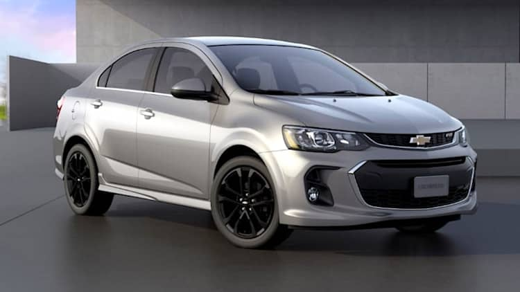 Chevrolet Sonic subcompact will live on for 2019, at least