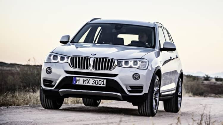 BMW recalls 200k SUVs in two campaigns