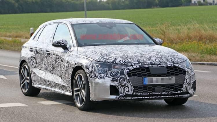 2020 Audi S3 spied, previews American sedan model