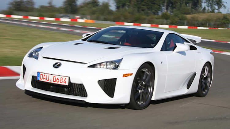 UPDATE: There are 9 unsold Lexus LFAs left in the U.S.