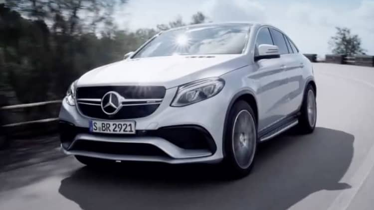 Mercedes GLE63 AMG Coupe teased