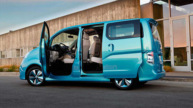 Longer-range Nissan e-NV200 seems ripe for America