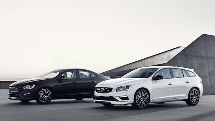 Volvo S60 and V60 Polestar get carbon fiber aero package