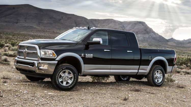 444,000 Cummins diesel Ram trucks recalled for water-pump fire risk