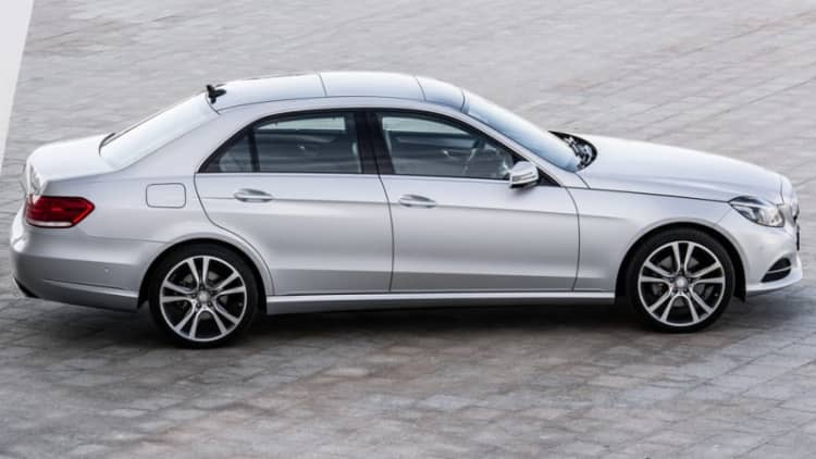 Mercedes calling in CLS, E-Class over rubber seal fire risk