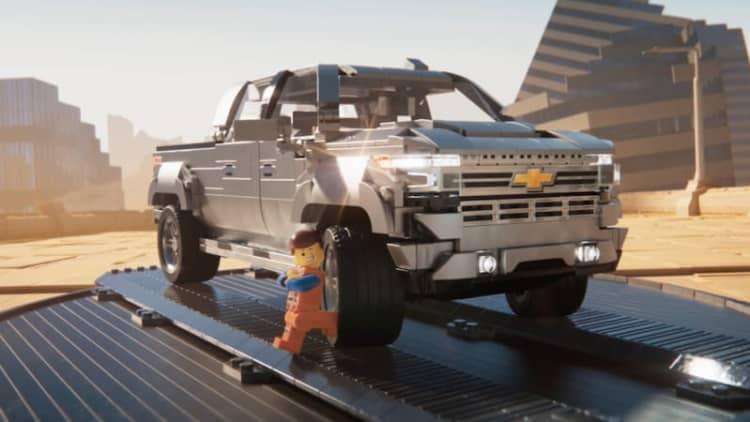 2019 Chevy Silverado featured in Lego Movie 2 campaign