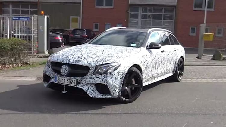Mercedes-AMG looks to be testing an even hotter E63 wagon