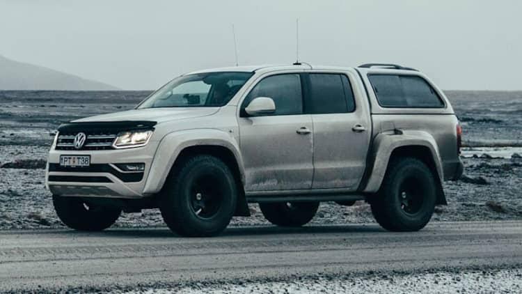 VW Amarok AT35 truck is designed for arctic exploration
