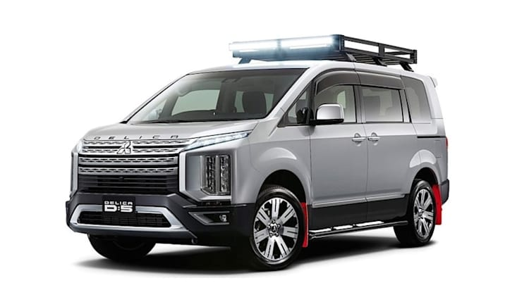 Mitsubishi reveals Delica D:5 off-road van and 'concept' crossovers ahead of Tokyo Auto Salon