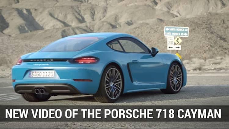 Porsche Shows Off 718 Cayman In New Video   Autoblog Minute